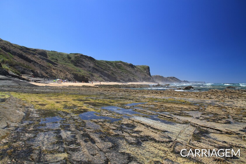 Carriagem Strand in Aljezur, Algarve - Portugal