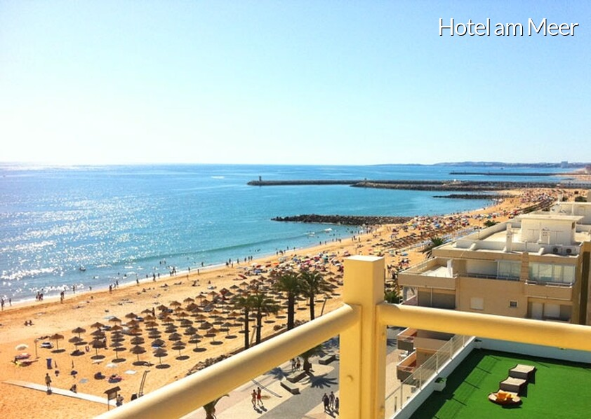 Hotel am Meer in Algarve